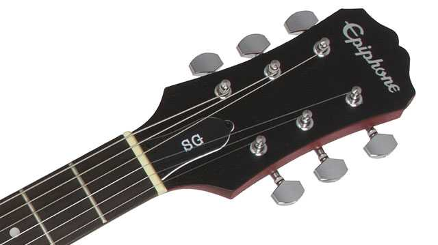 Epiphone SG Special VE headstock