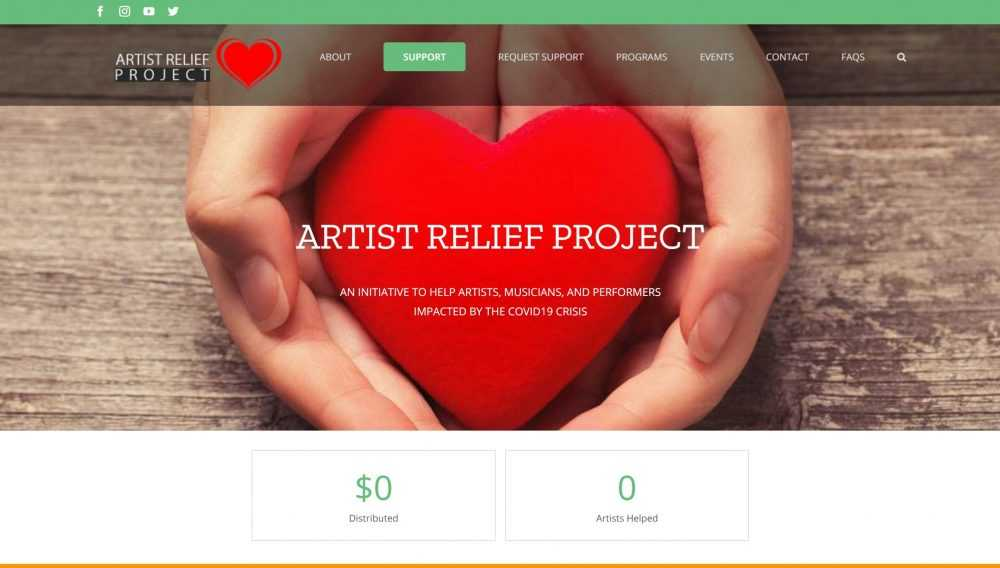 Artly World Artist Relief Project