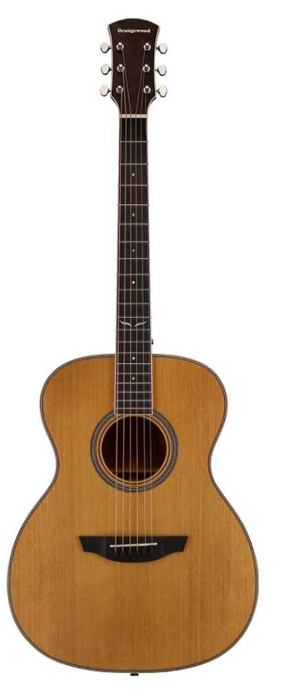 Ava | All Solid Grand Concert Acoustic Guitar | Orangewood